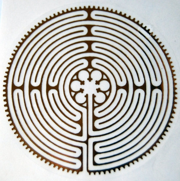 Aufkleber yantra labyrinth von chartres harmonieoase for Design versandhandel