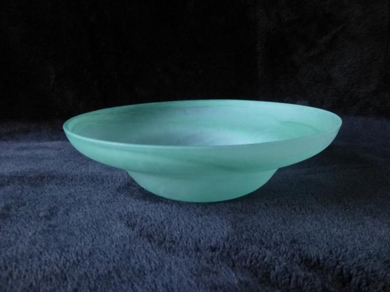 Glasschalen - Peony 30, grün