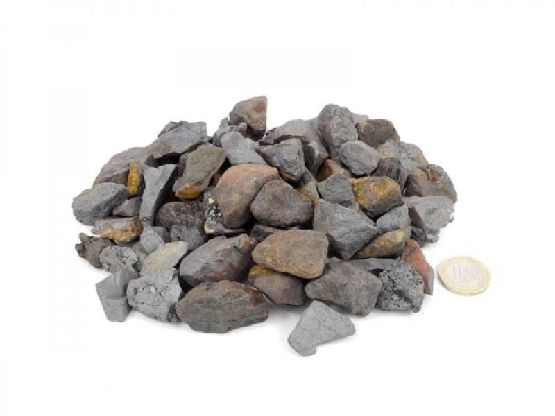 Hämatit - Rohsteine, 1 kg