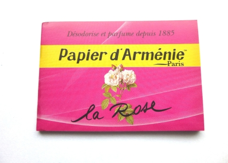Räucherpapier - La Rose