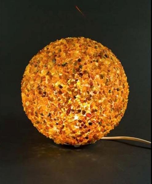 Bernstein-Lampe - Kugel